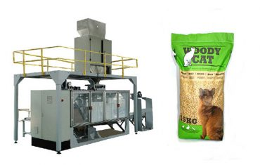 5kg-25kgの袋猫のリター包装機械