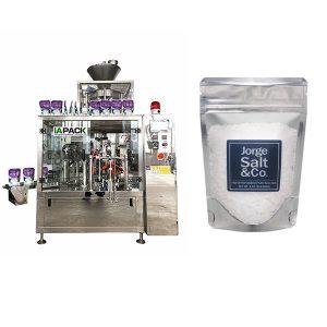 塩の自動ロータリープレマード梱包機