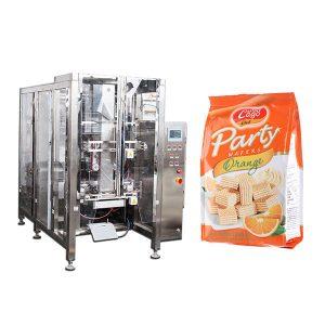 フルオート食品クワッドシールバッグパッキングマシン