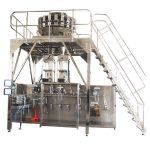 マルチヘッド計量機を備えた水平に予め作られた梱包機械
